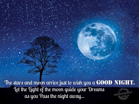 57 Good Night Wishing Moon and Stars Images   Mojly