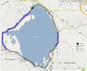 map of lake okeechobee florida lake okeechobee scenic trail rob s