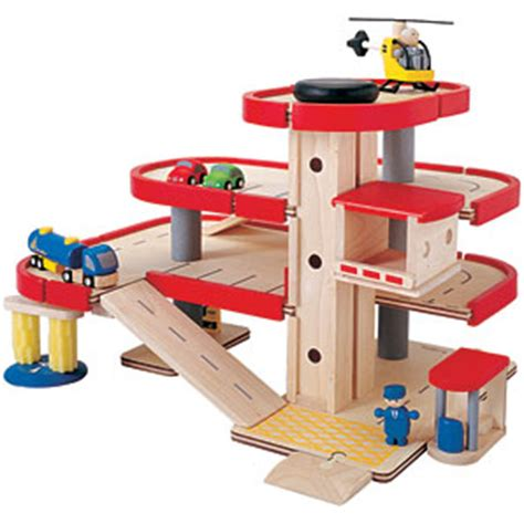 Wooden Garage For Toddlers by Lewis Wooden Parking Garage Childrens Gift Review
