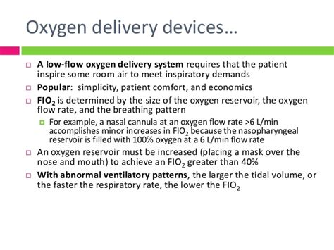 room air fio2 modalities of oxygen therapy in picu 31 3 14