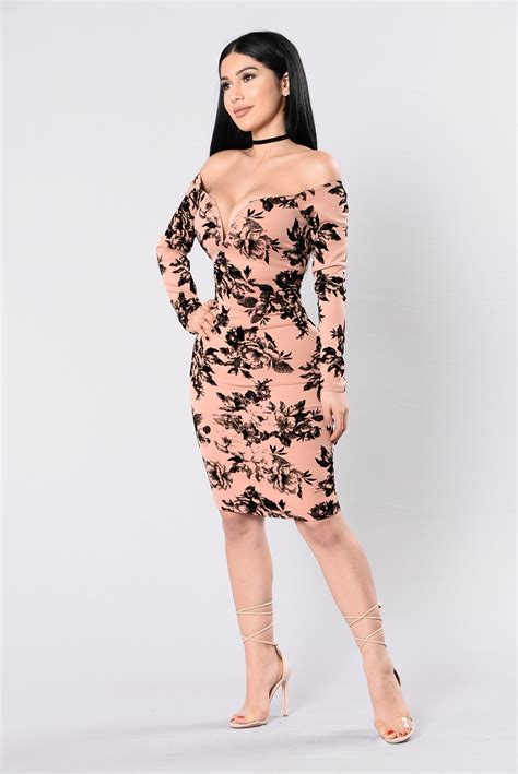 Dress Growing growing addiction dress mauve