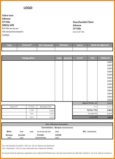 Exemple De Lettre Facture 7 Mod 232 Le De Facture Excel Lettre Officielle