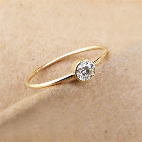 simple gold engagement rings ipunya