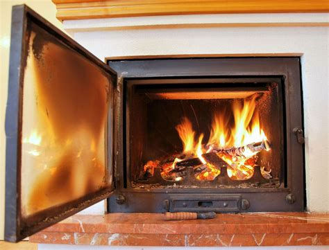 how to clean glass fireplace door with ash the at