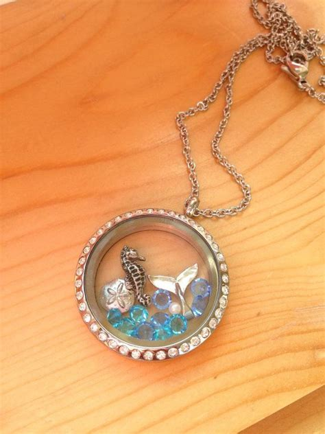 Origami Owl Etsy - by the sea locket similar design to origami owl