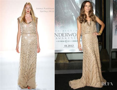 Catwalk To Carpet Fergie In Packham by Kate Beckinsale In Packham Underworld Awakening