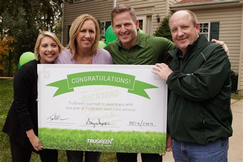 Trugreen Sweepstakes - trugreen reveals sweepstakes winner s backyard makeover in videos