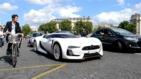 citroen survolt citro 235 n gt and citro 235 n survolt cruising in paris youtube