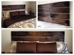 Affordable Wood Headboards Diy Pallet Headboard With Shelves 15 Easy Headboard Diys