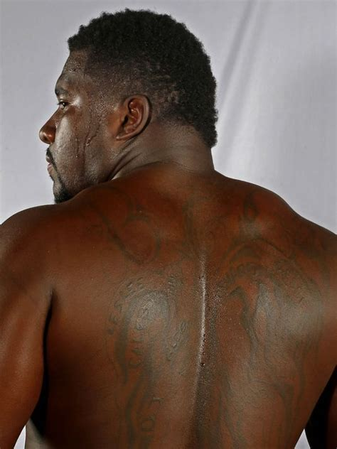 bengals tattoo bengals ink wallace gilberry talks his tattoos