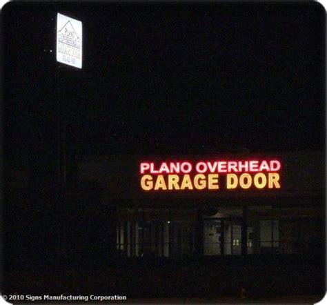 Plano Overhead Door Dallas Signs Mfg External Led