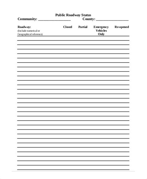 Situation Report Template Sle Situation Report 5 Documents In Pdf