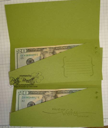 card money holder template gift card holder class part 2 patty s sting spot