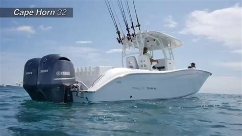 boat twin horn florida sportsman reviews the 32 cape horn offshore center