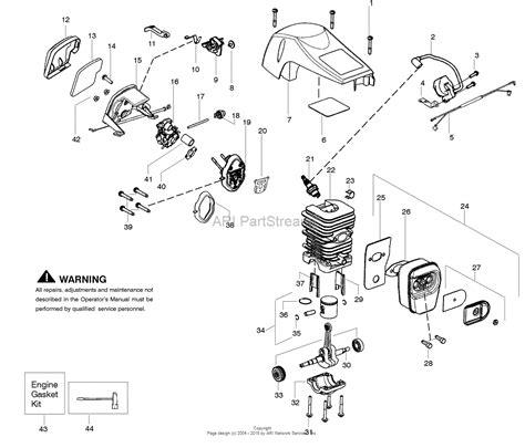 poulan pro parts diagram poulan pp4218avx gas saw 4218avx poulan pro parts