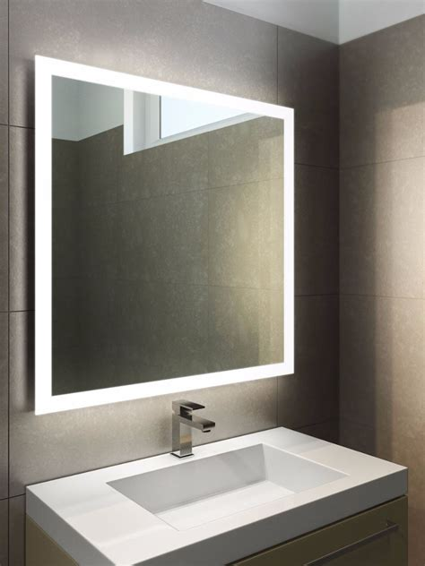 red bathroom mirror light mirrors halo led bathroom mirror with touchless