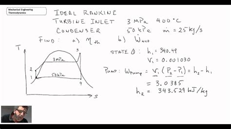 simple rankine cycle me mechanical mechanical engineering thermodynamics lec 21 pt 1 of 5