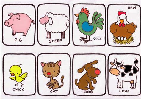 recortar imagenes en ingles animales de granja imagenes material para maestros
