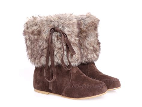 flat winter ankle boots with fur us 49 00