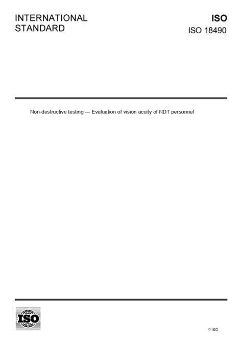 ISO 18490 - European Standards