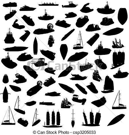 dessin bateau silhouette bateaux silhouette vecteurs search clip art