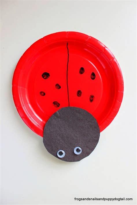 Paper Plate Ladybug Craft - ladybug paper plate craft fspdt