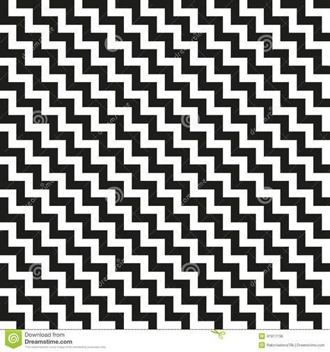 seamless zigzag pattern design seamless monochrome zigzag pattern vector