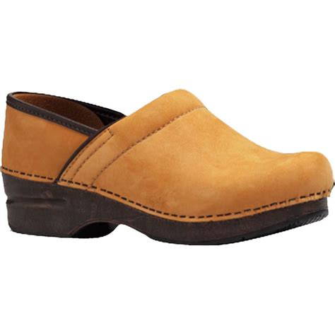 clog shoes for dansko professional wheat nubuck clog s
