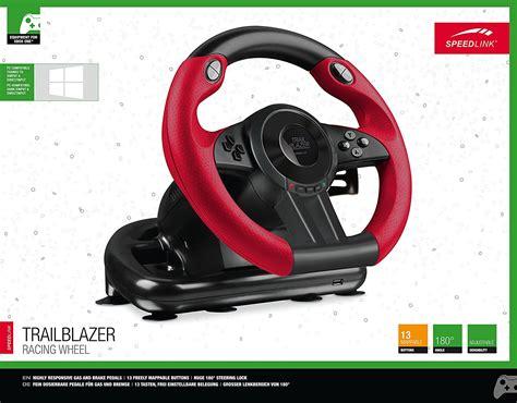 volante ps3 economico volante speedlink trailblazer racing wheel con pedales pc