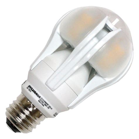 sylvania led light bulbs sylvania 78909 led12a19 dim o 827 hvp a19 a line pear