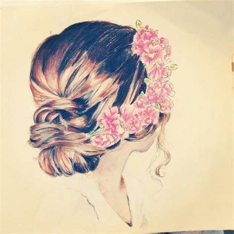 beautiful hairstyles drawing drawing is a passion image 2505451 by saaabrina on