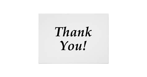 thank you posters zazzle thank you poster zazzle