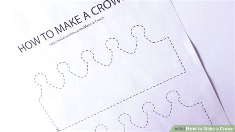 Make A Paper Crown Template - 3 ways to make a crown wikihow