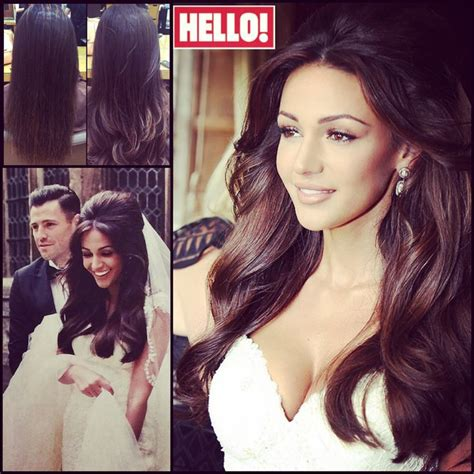 michelle keegan hairstyles half up half down 1000 ideas about half up half down on pinterest hair