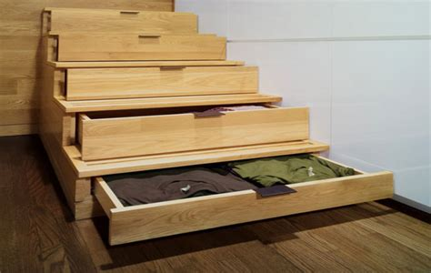 Stairs Drawers Plans by Studio Kitchen Design Brown Wood Boards Brown
