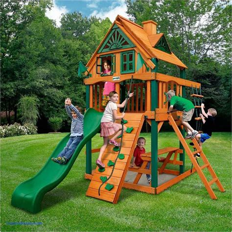 best backyard playgrounds do it yourself swing sets plus slides to get amazing