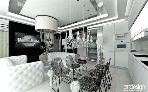 nowoczesny layout vogue wnętrze apartamentu w paryżu projektowanie