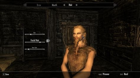 skyrim hair mods skyrim nexus hair color mod