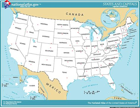 printable map with states and capitals search results for list of 50 states and capitals