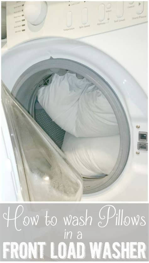 How To Wash Pillows In Washer by How To Wash Pillows In A Front Load Washing Machine Ask Best Of