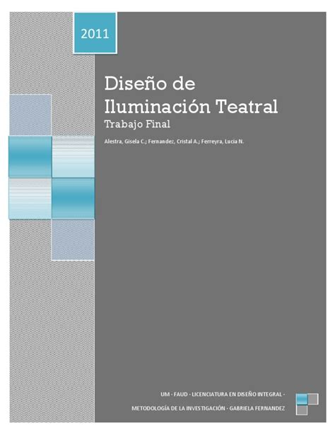 iluminacion teatral pdf iluminacion teatral