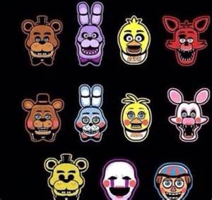 Toy freddy toy bonnie toy chica mangle foxy 2 0 golden freddy