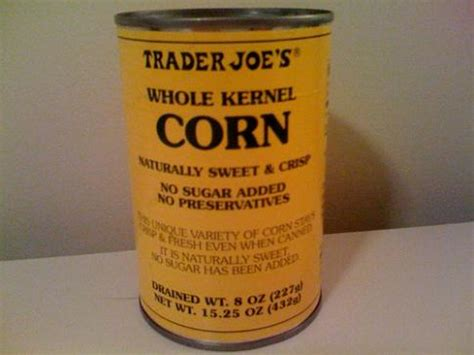 can my eat canned corn trader joe s canned corn nothing but bonfires