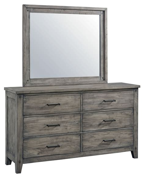 gray dresser set rustic casual gray 6 piece full bedroom set nelson rc