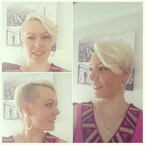 how to cut a pixie using clippers asymmetric style with a clipper cut side awesome