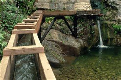 mission dam  aqueduct  santa barbara botanic garden