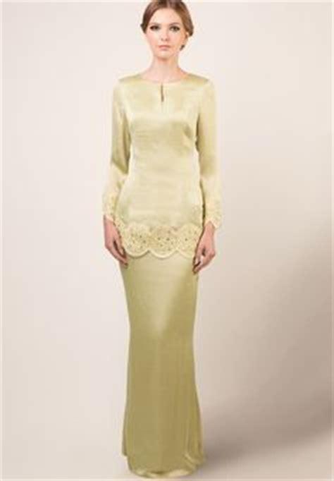 Kebaya Bordir Black White Rhoda Hanya Kebaya fesyen baju kurung moden terkini black white monochrome