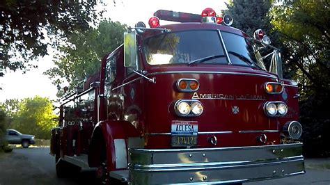 american lafrance fire truck  sale  boise  youtube