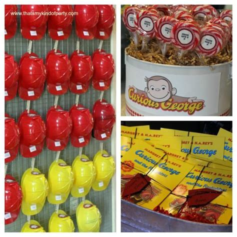 curious george decorations curious george firetruck birthday theme from kara s