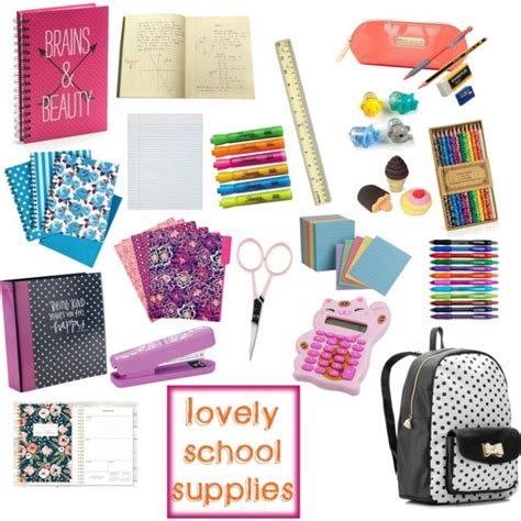 Office Supplies You Need For College School Supplies Polyvore